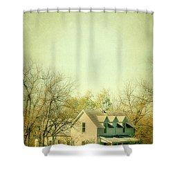 Farmhouse In Arkansas Shower Curtain by Jill Battaglia
