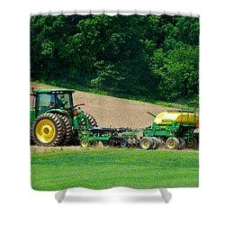 Farming The Field Shower Curtain