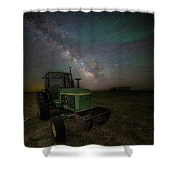 Shower Curtain featuring the photograph Farming The Rift 7 by Aaron J Groen