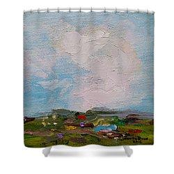 Farmland II Shower Curtain by Judith Rhue
