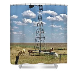 Farmlife Memories Shower Curtain