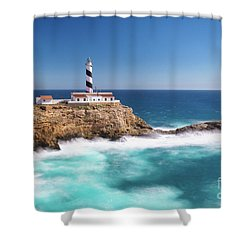 Faro Cala Figuera Shower Curtain