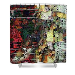 Fascinating Rythm Shower Curtain