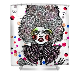 Fashion Doll Shower Curtain