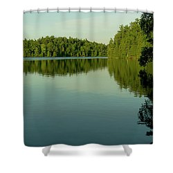 Fast Approaching Shower Curtain
