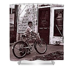 Fast Food 1963 Shower Curtain