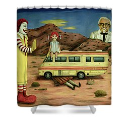 Fast Food Nightmare 5 The Mirage Shower Curtain