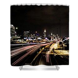 Fast Lane Shower Curtain