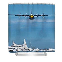 Fat Albert Shower Curtain by Sebastian Musial