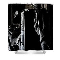 Father Abraham Shower Curtain by David Bearden