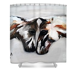 Father And Daughter - Find All The Animals Inside Shower Curtain
