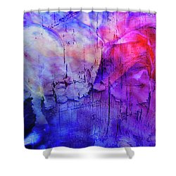 Faux Chasm Shower Curtain