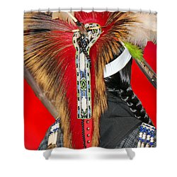 Favored Feathers Shower Curtain