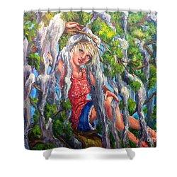 Favorite Pastime Shower Curtain