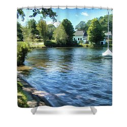 Shower Curtain featuring the photograph Favorite Place by Betsy Zimmerli