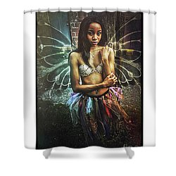 Faye Dona II Shower Curtain by Donald Yenson