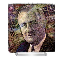 FDR Shower Curtain