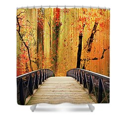 Shower Curtain featuring the photograph Forest Fantasia by Jessica Jenney