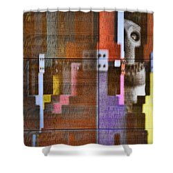 Fearful Reflections San Francisco Shower Curtain