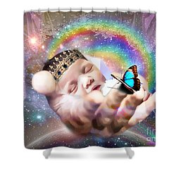 Fearfully And Wonderfully Created Shower Curtain by Dolores Develde