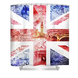 Fearless Shower Curtain by Nicky Jameson