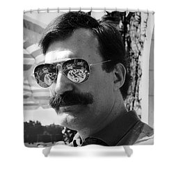 Feast For The Eyes Shower Curtain by Madeline Ellis