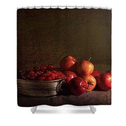Feast Of Fruits Shower Curtain by Tom Mc Nemar