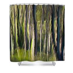 Feather Forest Shower Curtain