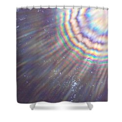 Feather Of The Light Shower Curtain