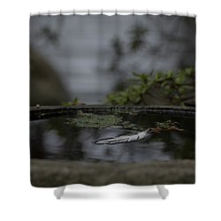 A Feeling Of Floating Weightlessly Shower Curtain