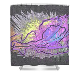 Feathered Daydreams Shower Curtain