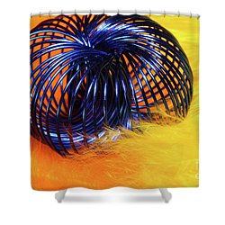 Feathers And Jewelry  Shower Curtain