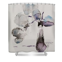 February Shower Curtain by Becky Kim