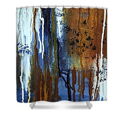 February Rain Shower Curtain