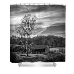 February Sky Shower Curtain