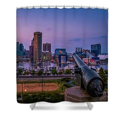 Federal Hill In Baltimore Maryland Shower Curtain