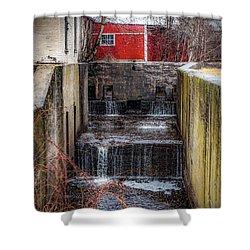Feeder Canal Lock 13 Shower Curtain