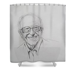 Feel The Bern Shower Curtain