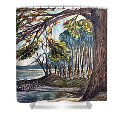 Feel The Breeze Shower Curtain