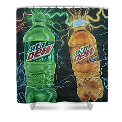 Feel The Dew Shower Curtain