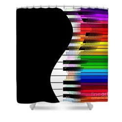 Feel The Music Shower Curtain