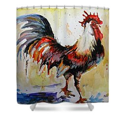 Feeling Cocky Shower Curtain