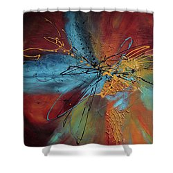 Feeling Free Shower Curtain