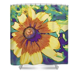 Shower Curtain featuring the photograph Feeling Groovy by Karen Shackles