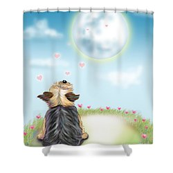 Feeling Love Shower Curtain