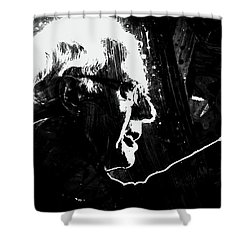 Feeling The Bern Shower Curtain by Brian Reaves