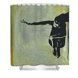 Feeling Unsimplified No. 1 Shower Curtain by Revere La Noue
