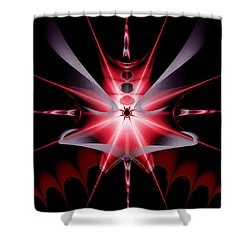 Feelings Love At First Sight Shower Curtain by Andrew Penman