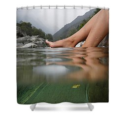 Feet On The Water Shower Curtain