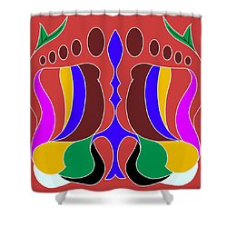 Feet Shower Curtain